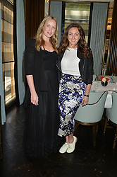 Left to right, KATIE MARSHALL and NATASHA CORRETT at the 'Ladies of Influence Lunch' held at Marcus, The Berkeley Hotel, London on 12th May 2014.