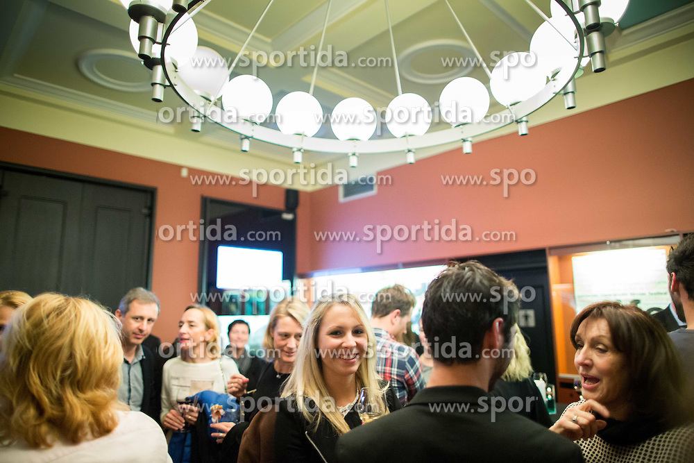 Premiere of documentary movie Mima about Slovenian tennis player Mima Jausovec, on November 9, 2015 in Kinoteka, Ljubljana, Slovenia. Photo by Vid Ponikvar / Sportida