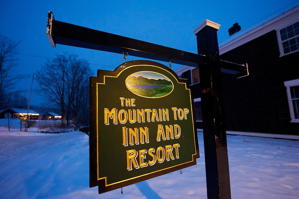 Winter wedding at the Mountain Top Inn Resort Chittenden, Vermont. Vermont Wedding Photographer Brian Jenkins Photography portfolio