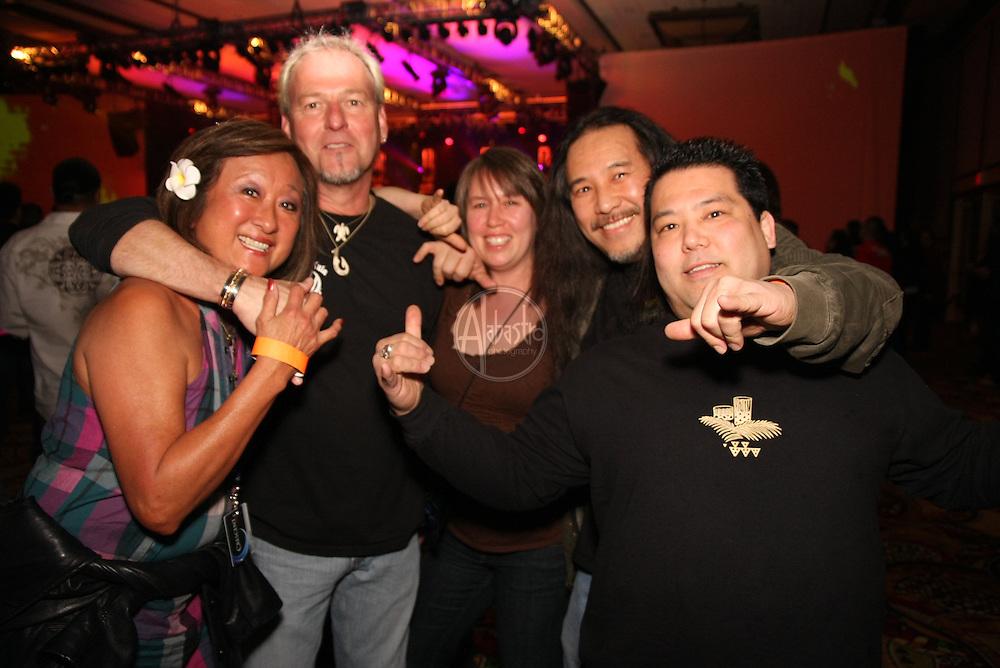 Party at Winterfest '10, Snoqualmie Casino, with da Rebel Souljahz.