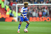 Reading midfielder Daniel Williams (23) during the EFL Sky Bet Championship match between Nottingham Forest and Reading at the City Ground, Nottingham, England on 22 April 2017. Photo by Jon Hobley.