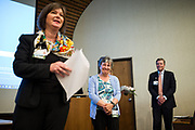 Good Samaritan Hospital celebrates their Leadership Awards at Good Samaritan Hospital in San Jose, California, on April 24, 2017. (Stan Olszewski/SOSKIphoto)