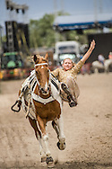The Fast and the Furious Trick Riding perform at Cheyenne Frontier Days.