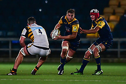 Tom Dodd of Worcester Cavaliers in action  - Mandatory by-line: Craig Thomas/JMP - 23/10/2017 - RUGBY - Sixways Stadium - Worcester, England - Worcester Cavaliers v Wasps - Aviva A League