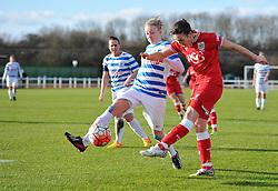 Corinne Yorston defender for Bristol City Women - Mandatory by-line: Paul Knight/JMP - Mobile: 07966 386802 - 14/02/2016 -  FOOTBALL - Stoke Gifford Stadium - Bristol, England -  Bristol Academy Women v QPR Ladies - FA Cup third round