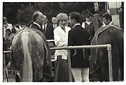 Princess of Wales, Prince Charles, Cartier Polo. 27 July 1986.