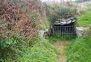 Fogou underground chamber at Chysauster Ancient Village late Iron Age and Romano-British village of courtyard houses  Cornwall