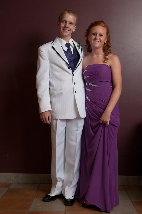 Lathan Goumas | MLive.com..May 5, 2012 -Teagan Pool and Courtney Arvoy at the Linden High School prom.