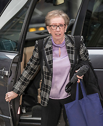 © Licensed to London News Pictures. 23/01/2018. London, UK. Margaret Becket MP arrives at Labour Party headquarters ahead of an NEC (National Executive Committee) meeting. The group are campaigning against the suspension of party members over alledged antisemitism.  Photo credit: Peter Macdiarmid/LNP