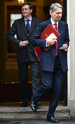 © Licensed to London News Pictures. 12/06/2012. Westminster, UK Secretary of State for Defence PHILIP HAMMOND (right). Politicians on Downing Street today 12 June 2012. Photo credit : Stephen Simpson/LNP