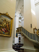 Interior view of the Vilnius Cathedral/Katedra, Vilnius, Lithuania