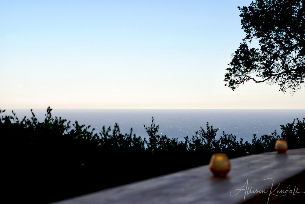 Sunset view from Nepenthe, Big Sur