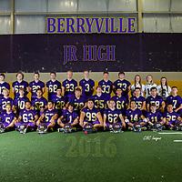 2016 Berryville Jr. High Football Team & Indiv.