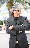 Im Sang-soo at The Taste of Money photocall at the 65th Cannes Film Festival France. Saturday 26th May 2012 in Cannes Film Festival, France.