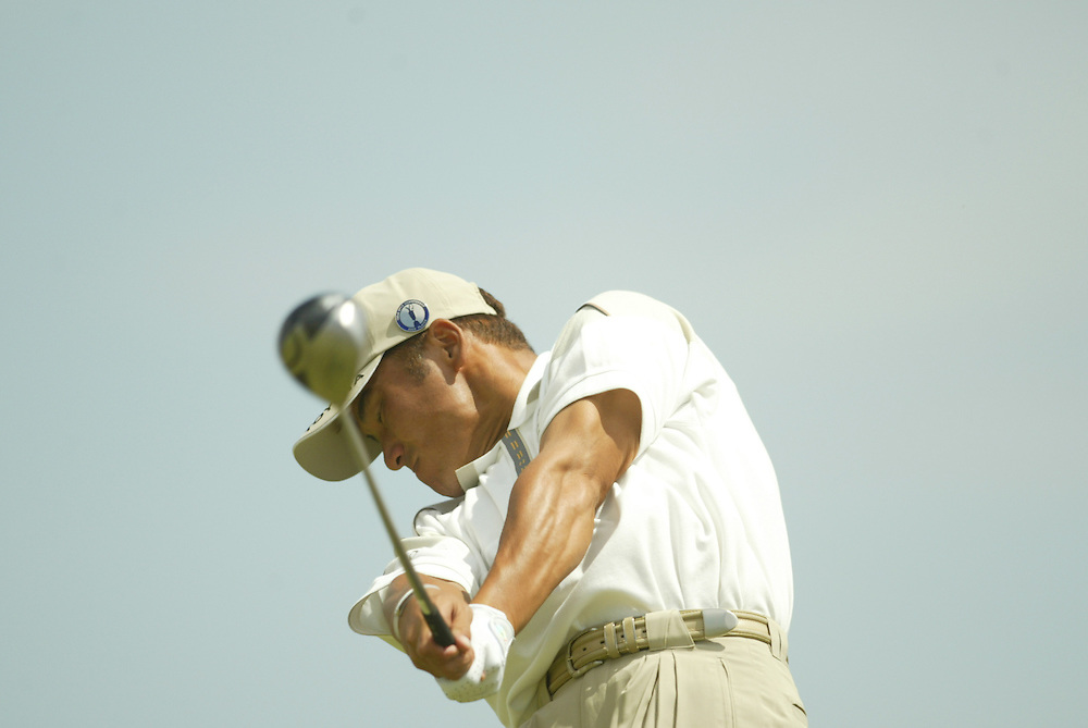 Shigeki Maruyama..2003 British Open..Second Round..Royal St. George's Golf Club..Sandwich, Kent, England..Friday, July 18  2003..photograph by Darren Carroll