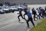 21/09/08 - CHARADE - PUY DE DOME- FRANCE - 50e Anniversaire de la creation du circuit de Charade. Depart type Le Mans - Photo Jerome CHABANNE
