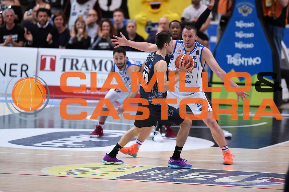 Flaccadori Diego<br /> Quarti di Finale Gara 2<br /> Legabasket A 2016,2017<br /> Trento 14,05,2017<br /> Foto Ciamillo-Castoria,GiulioCiamillo