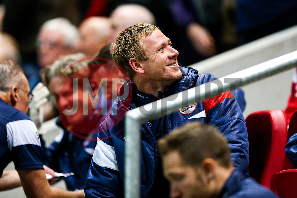 Bristol City Assistant Head Coach Dean Holden looks on - Rogan/JMP - 19/09/2017 - Ashton Gate Stadium - Bristol, England - Bristol City v Stoke City - Carabao Cup Third Round.
