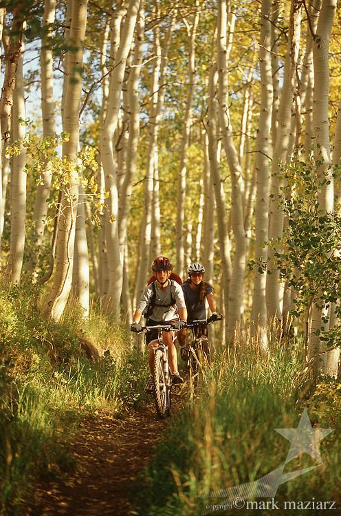 mountain biking at Deer Valley Resort, Park City, UT USA