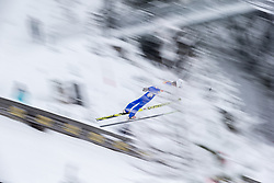 15.12.2017, Nordische Arena, Ramsau, AUT, FIS Weltcup Nordische Kombination, Skisprung, im Bild Espen Andersen (NOR) // Espen Andersen of Norway during Cross Country Training of FIS Nordic Combined World Cup, at the Nordic Arena in Ramsau, Austria on 2017/12/15. EXPA Pictures © 2017, PhotoCredit: EXPA/ Dominik Angerer