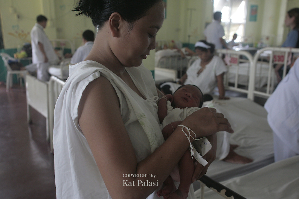 This is Jose Fabella Hospital in Blumentritt, Manila,Philippines. Mostly marginalized Filipino women come to give birth here. Jose Fabella Memorial Hospital is a facility for low-income mothers who give birth in Manila, Philippines. It is located at teh heart of downtown Manila in Blumentritt.