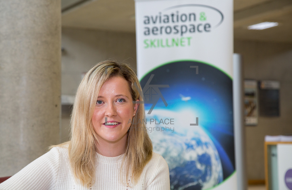 19.09.17.            <br /> Ciara Lawlor, Geoshawk at the Continued Airworthiness &amp; Maintenance Management (Level 9, Specialist Diploma), Kemmy Business School, University of Limerick. Picture: Alan Place