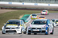 #7 Kenan DOLE  Team Hard Volkswagen Golf Milltek Sport Volkswagen Racing Cup at Rockingham, Corby, Northamptonshire, United Kingdom. May 01 2016. World Copyright Peter Taylor/PSP.