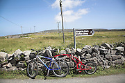 Bikes on Inishmore, Aran Islands, Ireland