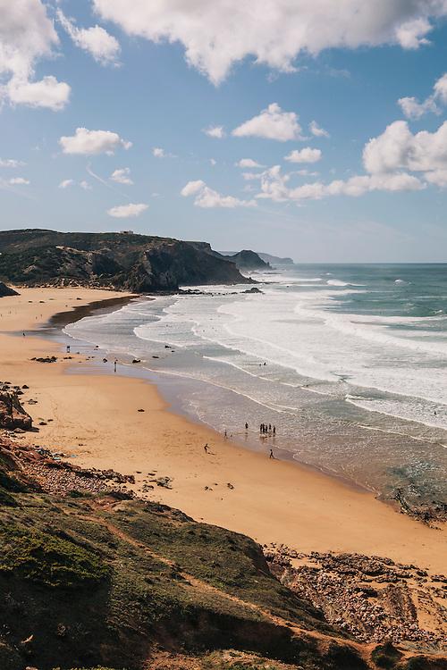 Amado beach, Western Algarve