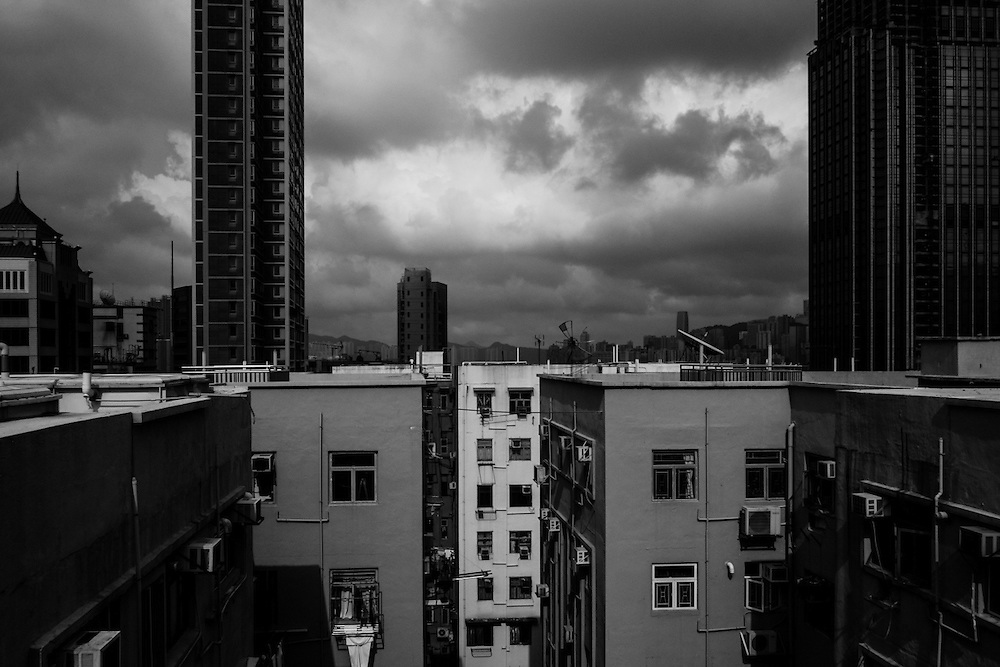 Hong Kong, 06/05/2016. Kowloon. Chungking Mansion roof.