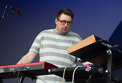 Hookworms perform on stage on day 1 of All Points East festival in Victoria Park in London, UK. Picture date: Friday 25 May 2018. Photo credit: Katja Ogrin/ EMPICS Entertainment.