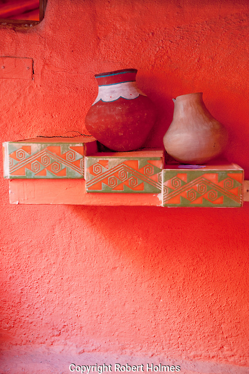 Crafts for sale in the Copper Canyon, Mexico