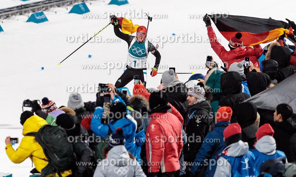 12.02.2018, Alpensia Biathlon Centre, Pyeongchang, KOR, PyeongChang 2018, Biathlon, Damen, Verfolgung, im Bild Laura Dahlmeier (GER, 1. Platz) // gold medalist and Olympic champion Laura Dahlmeier of Germany during the Ladies Biathlon Pursuit of the Pyeongchang 2018 Winter Olympic Games at the Alpensia Biathlon Centre in Pyeongchang, South Korea on 2018/02/12. EXPA Pictures © 2018, PhotoCredit: EXPA/ Johann Groder