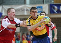 Bojan Skoko at MIK First league Handball match between RK Cimos Koper and RD Slovan, on May 9, 2009, in SRC Bonifika, Koper, Slovenia.  (Photo by Vid Ponikvar / Sportida)