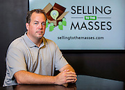 Matt Fifer with Selling to the Masses poses for a photo on Monday, August 25, 2014, in Bentonville, Ark. Photo by Beth Hall