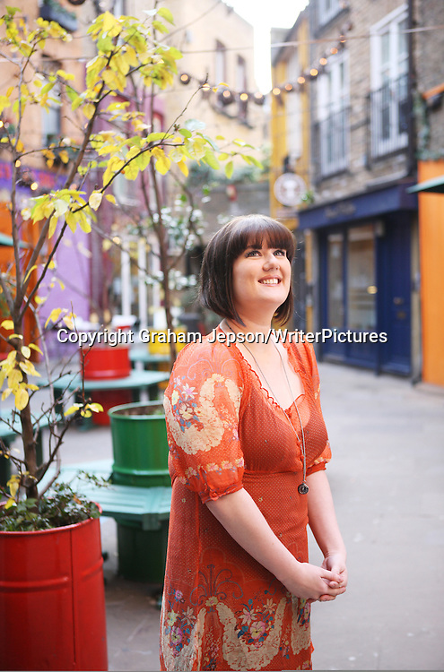 Lindsey Kelk, author  photographed in London<br /> <br /> copyright Graham Jepson/Writer Pictures<br /> contact +44 (0)20 822 41564<br /> info@writerpictures.com<br /> www.writerpictures.com