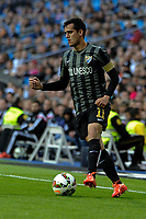 Malaga´s Juan Miguel Jimenez during 2014-15 La Liga match between Real Madrid and Malaga at Santiago Bernabeu stadium in Madrid, Spain. April 18, 2015. (ALTERPHOTOS/Luis Fernandez)