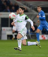 FUSSBALL  1. BUNDESLIGA  SAISON 2012/2013  14. SPIELTAG     TSG 1899 Hoffenheim - VfL Wolfsburg       18.11.2012 Diego (VfL Wolfsburg) am Ball