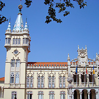 C&aacute;mara Municipal Town Hall in Sintra, Portugal <br />