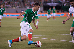 June 1, 2017 - East Rutherford, New Jersey, U.S - Mexico  forward RAòL JIMÆ'NEZ (9) during an international friendly match at Met Life Stadium in East Rutherford, NJ Mexico defeats Republic of Ireland 3 to 1. (Credit Image: © Mark Smith via ZUMA Wire)