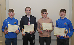 Westport Athletics Awards 2018 Boys U16<br /> Connacht and Mayo championships,<br />Rossa McAllister, Ronan O&rsquo;Donnell, Joseph O&rsquo;Grady and Oisin Ryall.<br /> Pic Conor McKeown