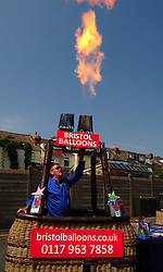 Bristol Balloons - Photo mandatory by-line: Dougie Allward/JMP - Tel: Mobile: 07966 386802 21/07/2013 - SPORT - FOOTBALL - Bristol -  Bristol Rovers Fun Day