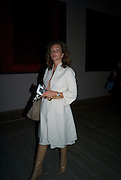 ISABELLE DE LA BRUYERE, Mark Rothko private view. Tate Modern. 24 September 2008 *** Local Caption *** -DO NOT ARCHIVE-© Copyright Photograph by Dafydd Jones. 248 Clapham Rd. London SW9 0PZ. Tel 0207 820 0771. www.dafjones.com.
