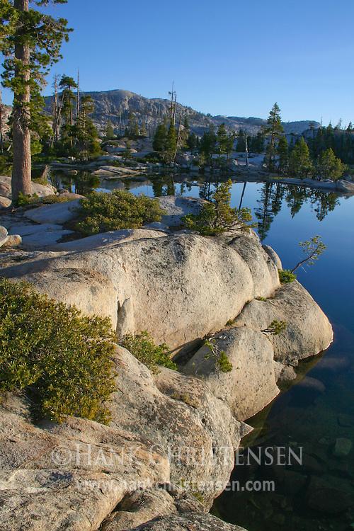 Sunrise at Boundary Lake, Yosemite National Park