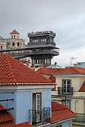 Santa Justa Lift (Elevador de Santa Justa), Baixa, Lisbon, Portugal