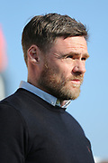 Scunthorpe United Manager Graham Alexander during the EFL Sky Bet League 1 match between Bristol Rovers and Scunthorpe United at the Memorial Stadium, Bristol, England on 24 February 2018. Picture by Gary Learmonth.