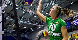 23-08-2017 NED: World Qualifications Czech Republic - Bulgaria, Rotterdam<br /> Gergana Dimitrova #10 of Bulgaria