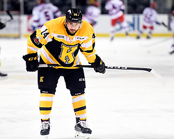 Conor Ali of the Kingston Frontenacs. Photo by Aaron Bell/OHL Images