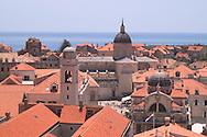 Terracotta rooftops of Dubrovnik, Croatia<br /> c. Ellen Rooney