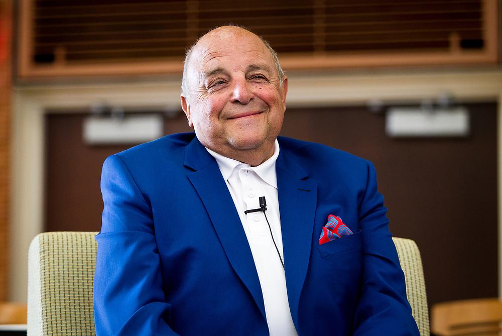 Former UW football Head Coach Barry Alvarez smiles during the Cap Times 2017 Idea Fest, Sunday, September 17, 2017